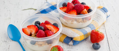 Grab and go yogurt recipe