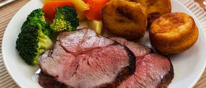 Traditional roast beef recipe