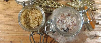 Flavoured salts recipe