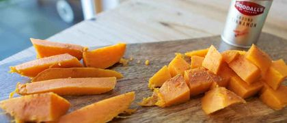Sweet potato finger food recipe