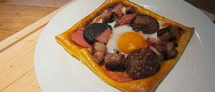 Breakfast tartlet recipe