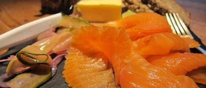Smoked salmon brown bread recipe