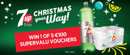 Win €100 worth of shopping with SuperValu and &up Free