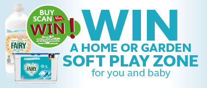 WIN A SOFT PLAY ZONE worth €1500 for you and baby thanks to SuperValu and Fairy Non Bio!