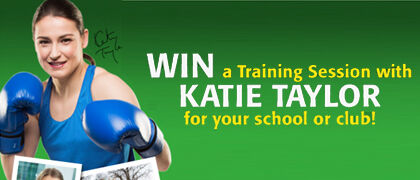 Train with Katie Taylor