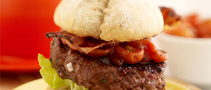 Kevin's Classic Barbecue Beef Burgers