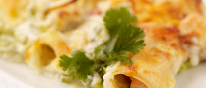 Creamy Seafood Cannelloni