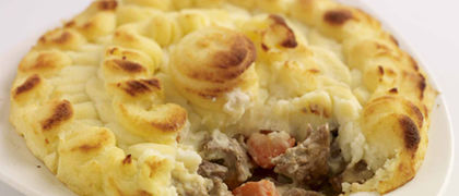 Slow Cooked Beef and Potato Pie
