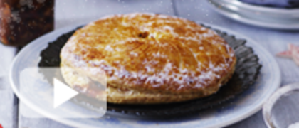Mincemeat and Frangipane Tart