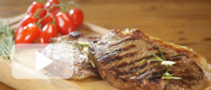 Rosemary and Mustard Steaks