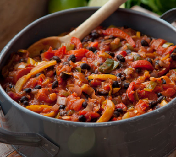 Mexican leek chilli recipe