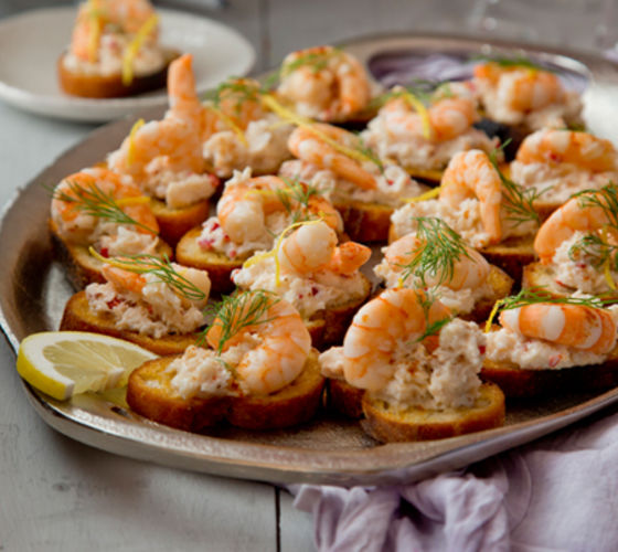 Crab prawn chilli toast recipe