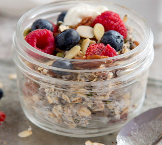 Nut berry snack pot recipe
