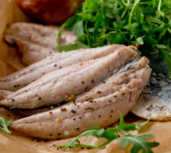 Oven baked mackerel lemon lime dressing recipe