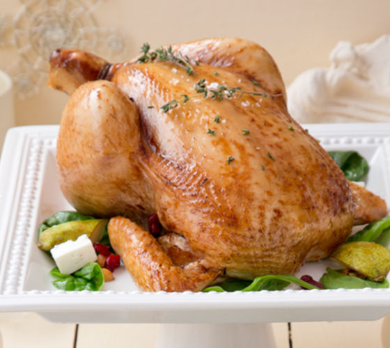 Roast chicken toasted nut pear slad recipe