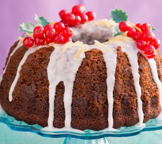 Sticky gingerbread bundt cake recipe