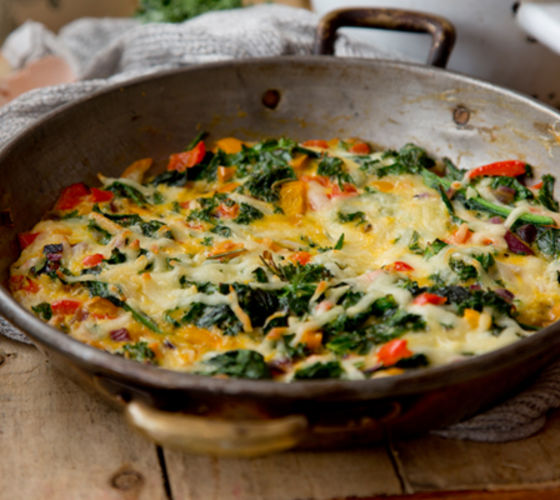 Super green frittata recipe