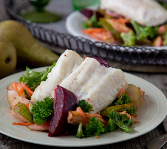 Winter hake salad recipe