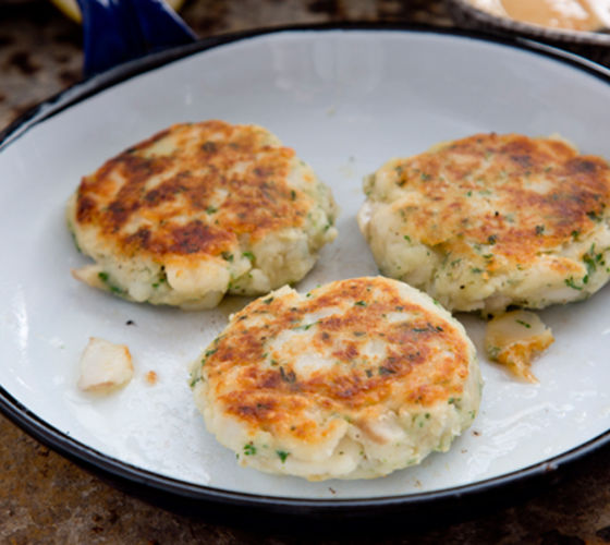 Cod fishcakes recipe