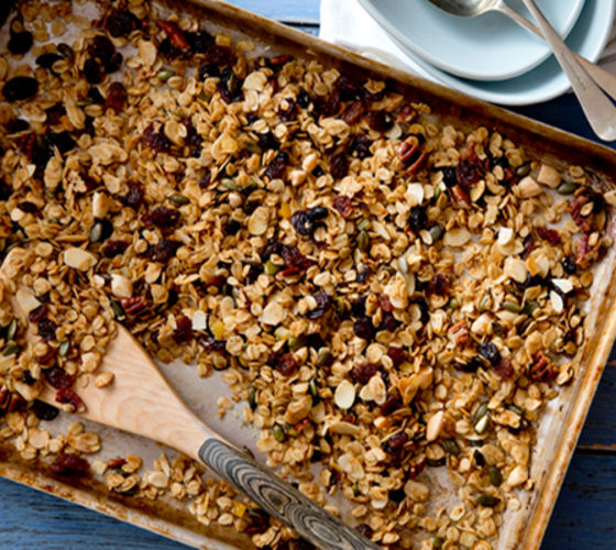 Fruit nut granola recipe