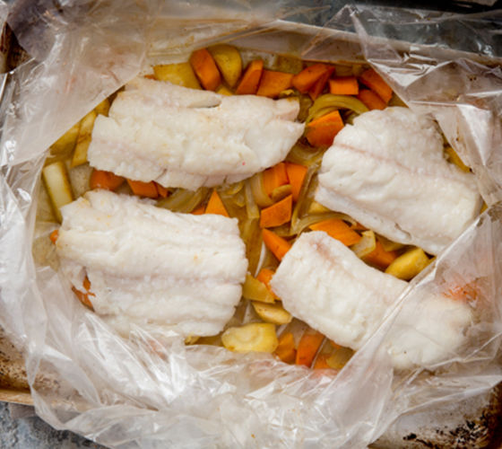 Haddock in bag recipe