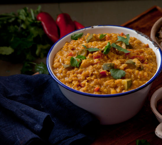 Indian red lentil dahl recipe