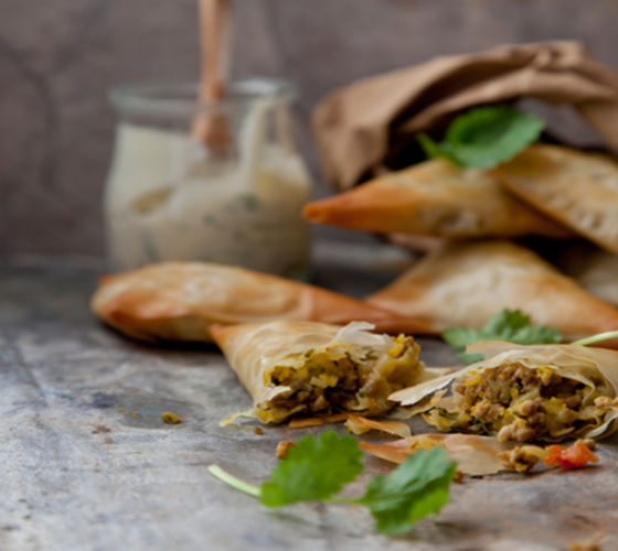 Lamb samosas recipe