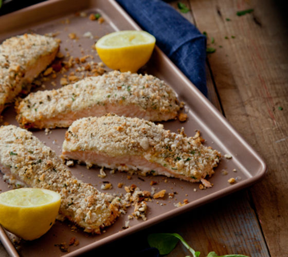Lemon herb salmon philadelphia recipe