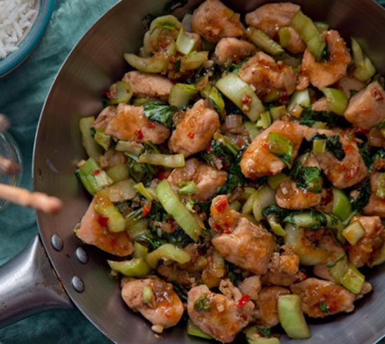 Sweet spicy thai chicken recipe