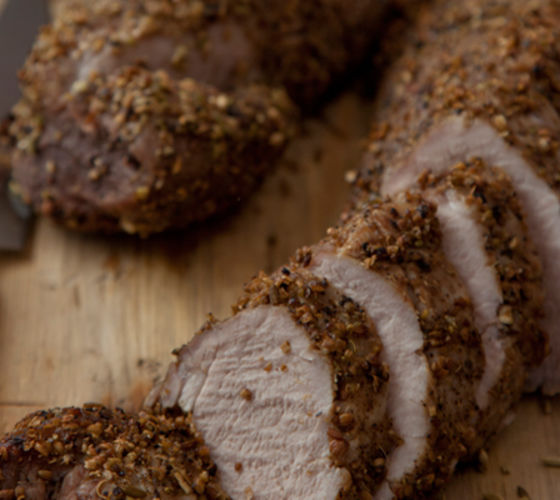 Roast pork fillets recipe