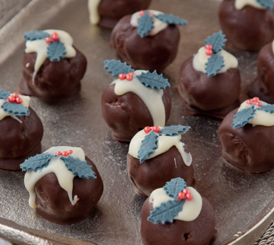 Christmas Chocolate Truffels