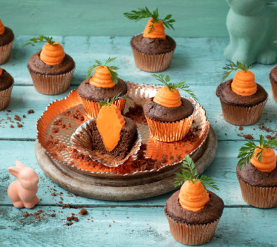 Carrot patch muffins recipe