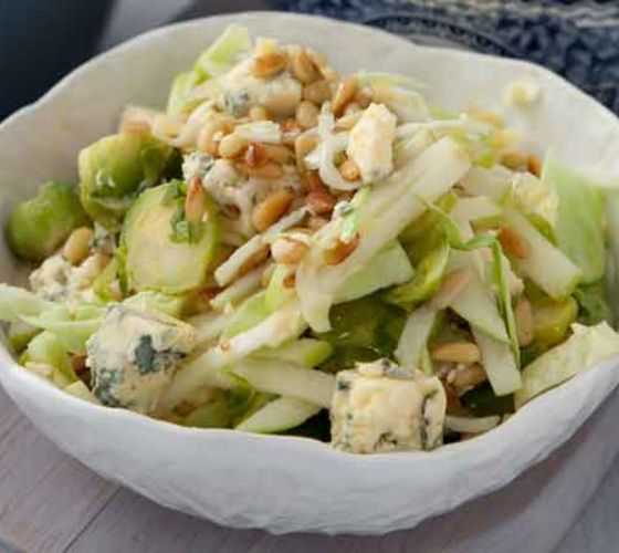 Shredded brussels sprouts recipe