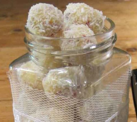 White chocolate truffle recipe