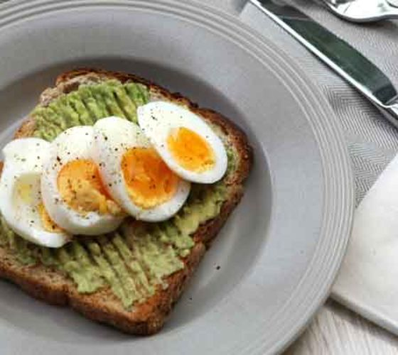 Avocado & Egg on Toast