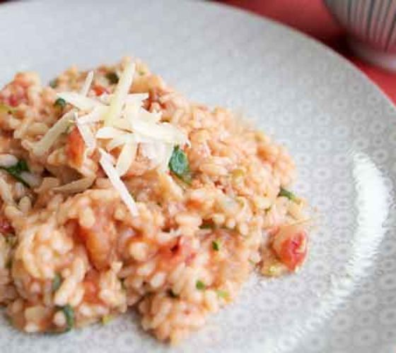 Hidden veg risotto recipe