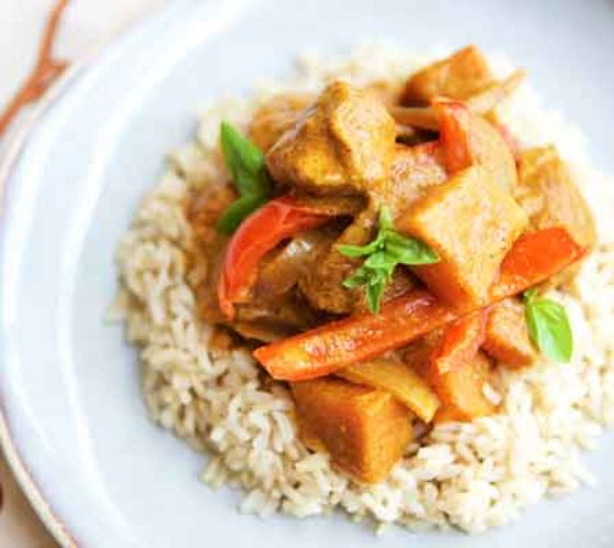 Kids chicken curry recipe