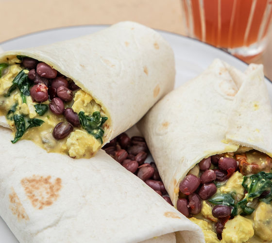 SuperValu Vegan Breakfast tBurrito