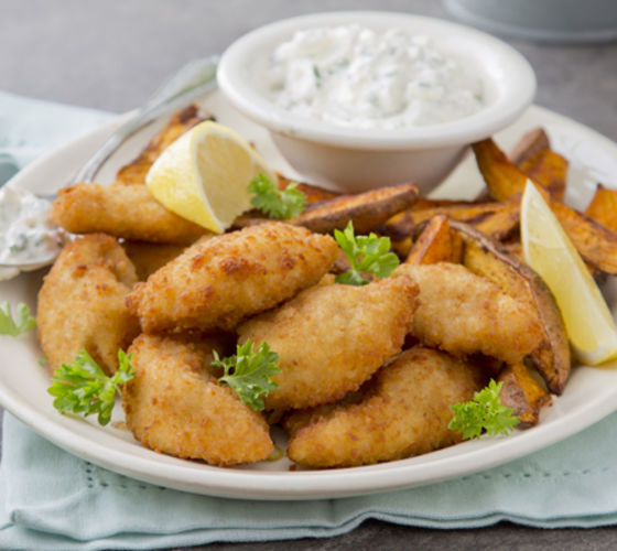 Chicken goujons recipe