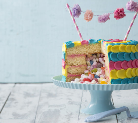 Pinata cake recipe