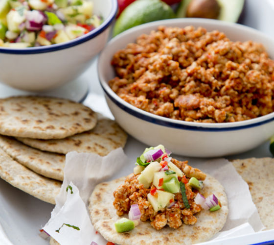 Turkey mince taco recipe