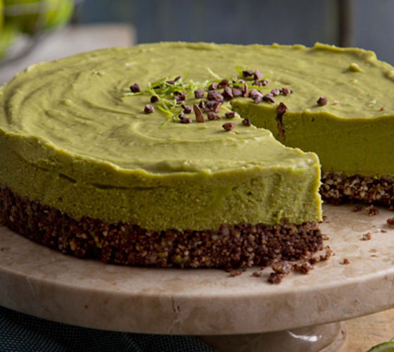 Matcha lime cheesecake recipe