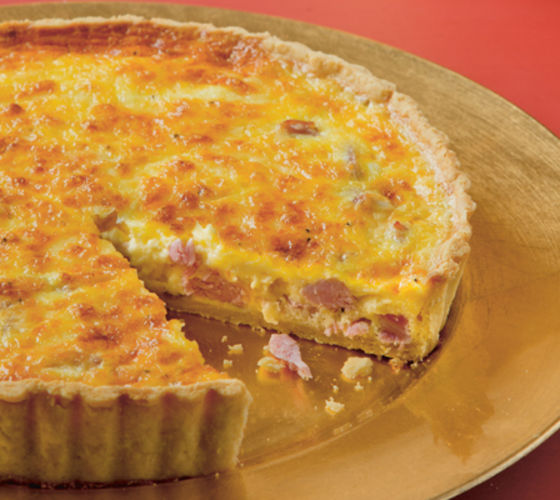 Ham cheese quiche