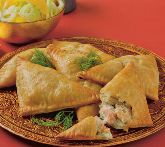 Seafood triangles
