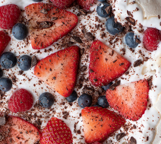 SuperValu Easter Recipes Vegan Pavlova