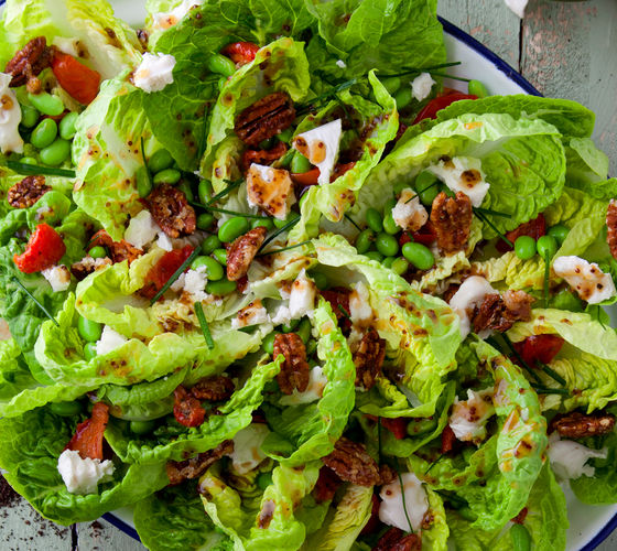 SuperValu Baby Gem Lettuce Cups with Broad Beans
