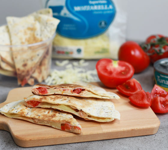 SuperValu Siobhan Berry Tuna Quesadillas