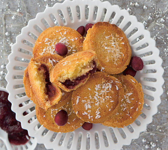 SuperValu Sharon Hearne Smith Cranberry Frangipane Pies