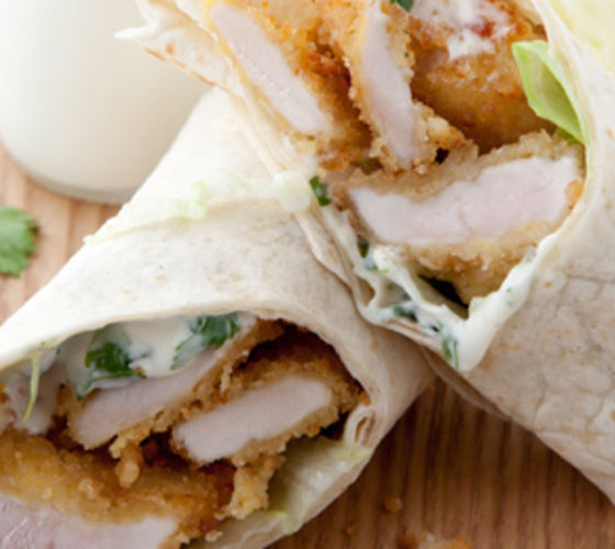 Chicken Goujon Wraps