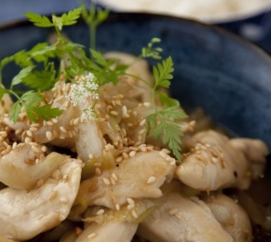 Chinese Style Lemon Chicken